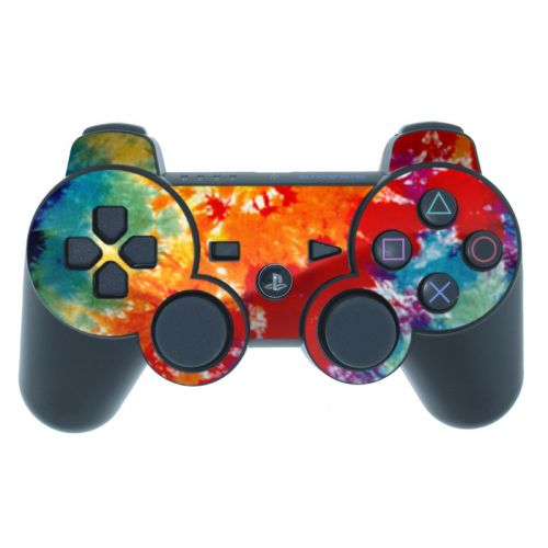 Tie Dyed PS3 Controller Skin