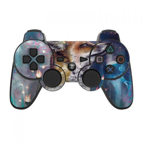 There is a Light PS3 Controller Skin
