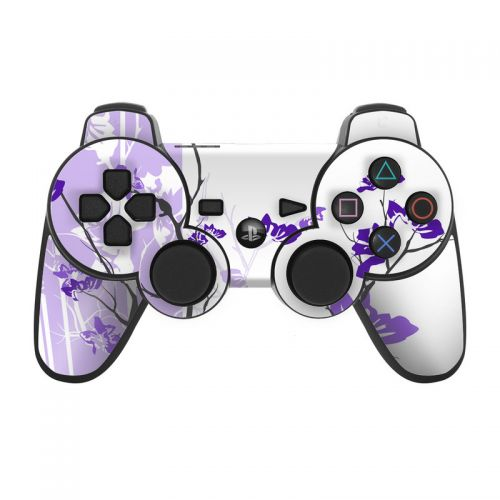 Violet Tranquility PS3 Controller Skin