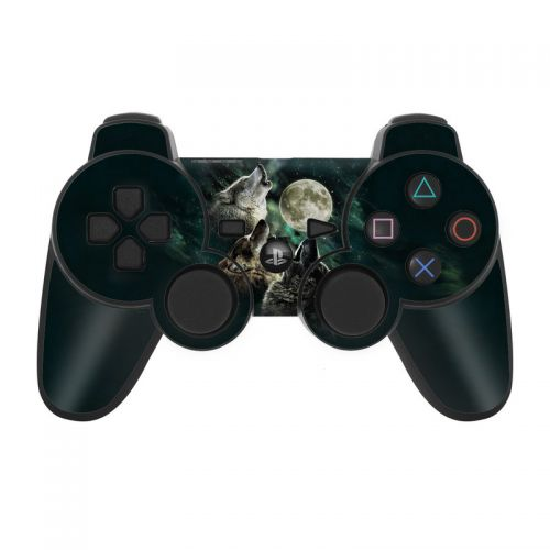 Three Wolf Moon PS3 Controller Skin