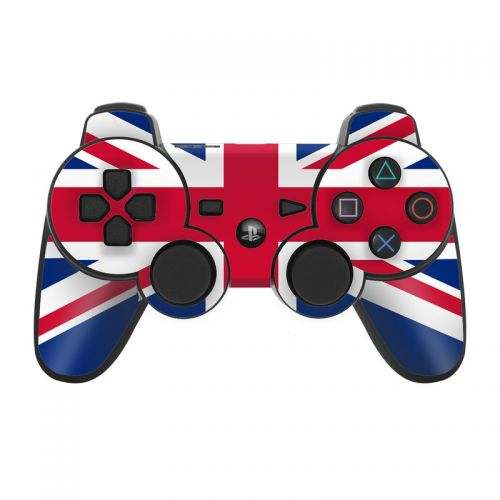 Union Jack PS3 Controller Skin