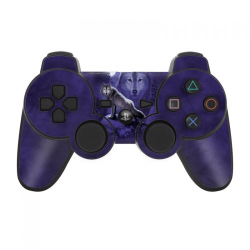 Wolf PS3 Controller Skin
