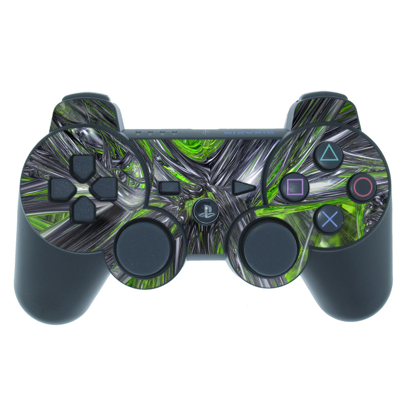 Emerald Abstract PS3 Controller Skin