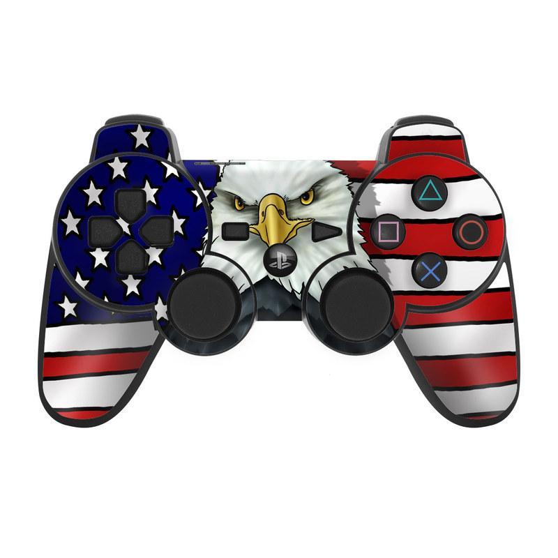 American Eagle PS3 Controller Skin