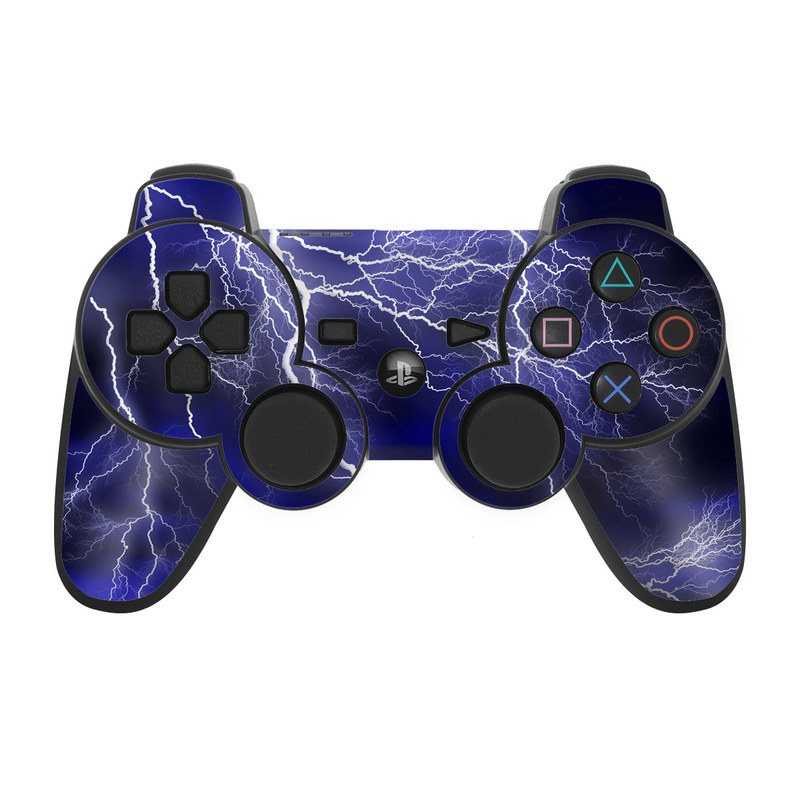 Apocalypse Blue PS3 Controller Skin