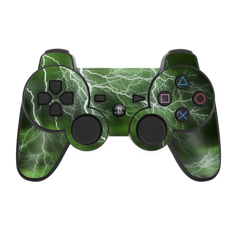 Apocalypse Green PS3 Controller Skin