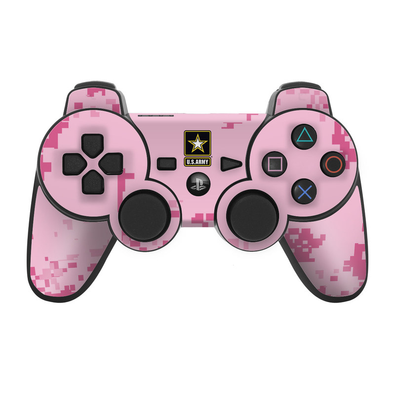 Army Pink PS3 Controller Skin