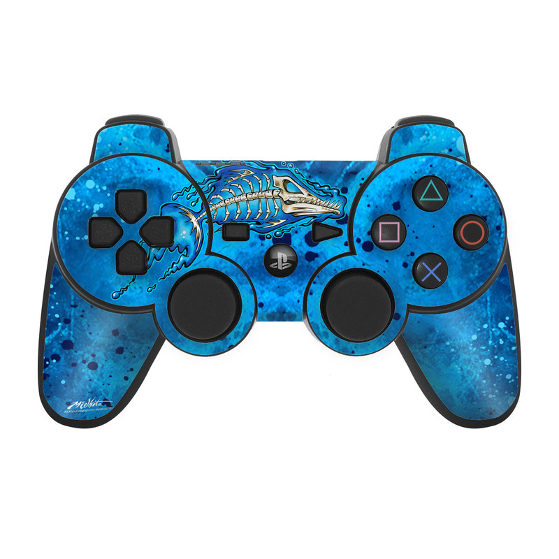 Barracuda Bones PS3 Controller Skin