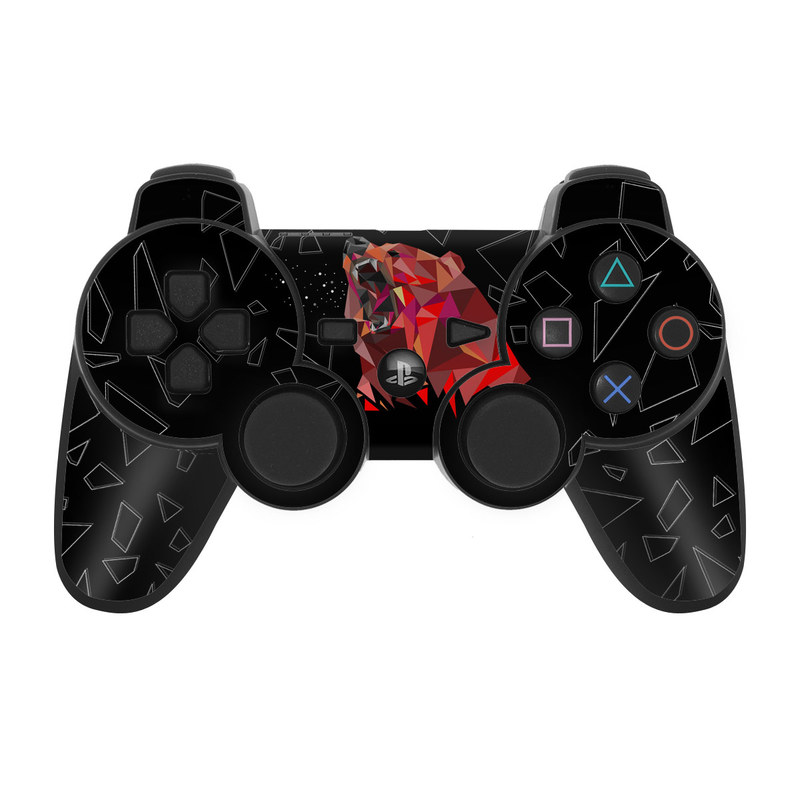 Bears Hate Math PS3 Controller Skin
