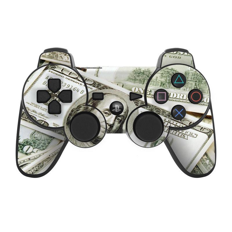 Benjamins PS3 Controller Skin