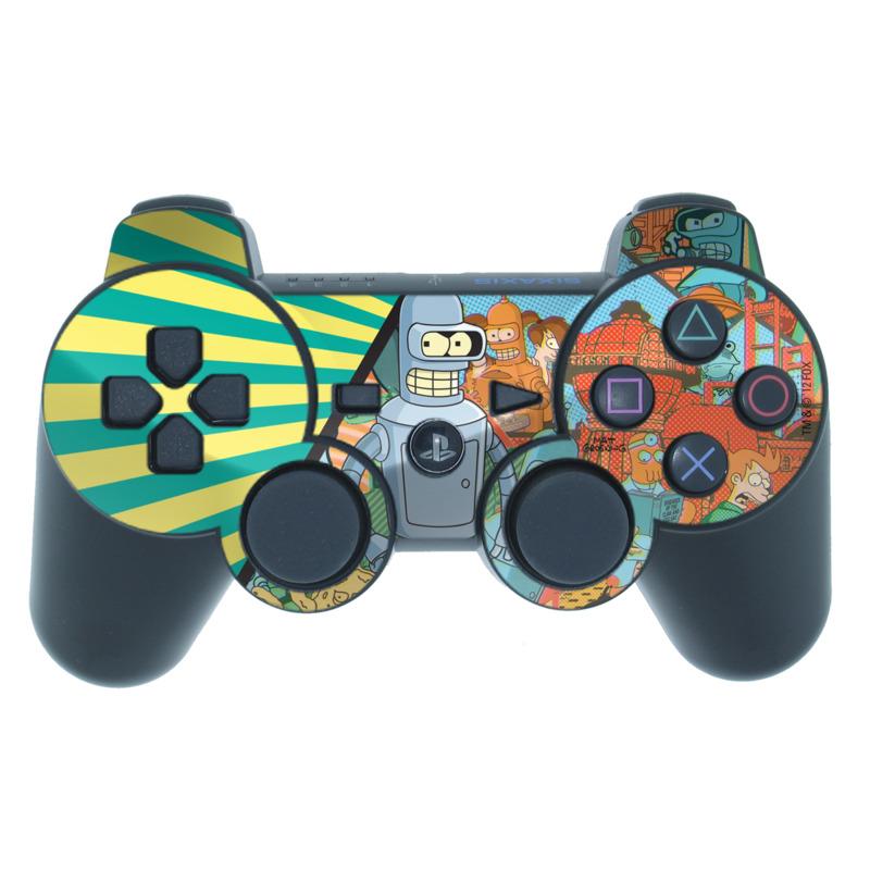 Bender PS3 Controller Skin