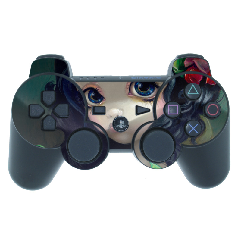 Carnivorous Bouquet PS3 Controller Skin