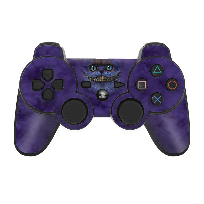 Cheshire Grin PS3 Controller Skin