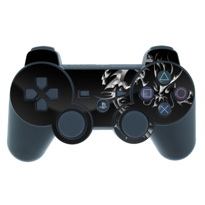 Chrome Dragon PS3 Controller Skin