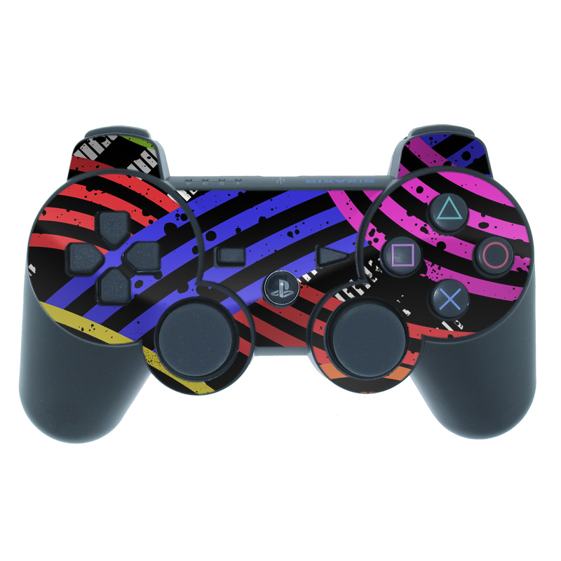 Color Flow PS3 Controller Skin