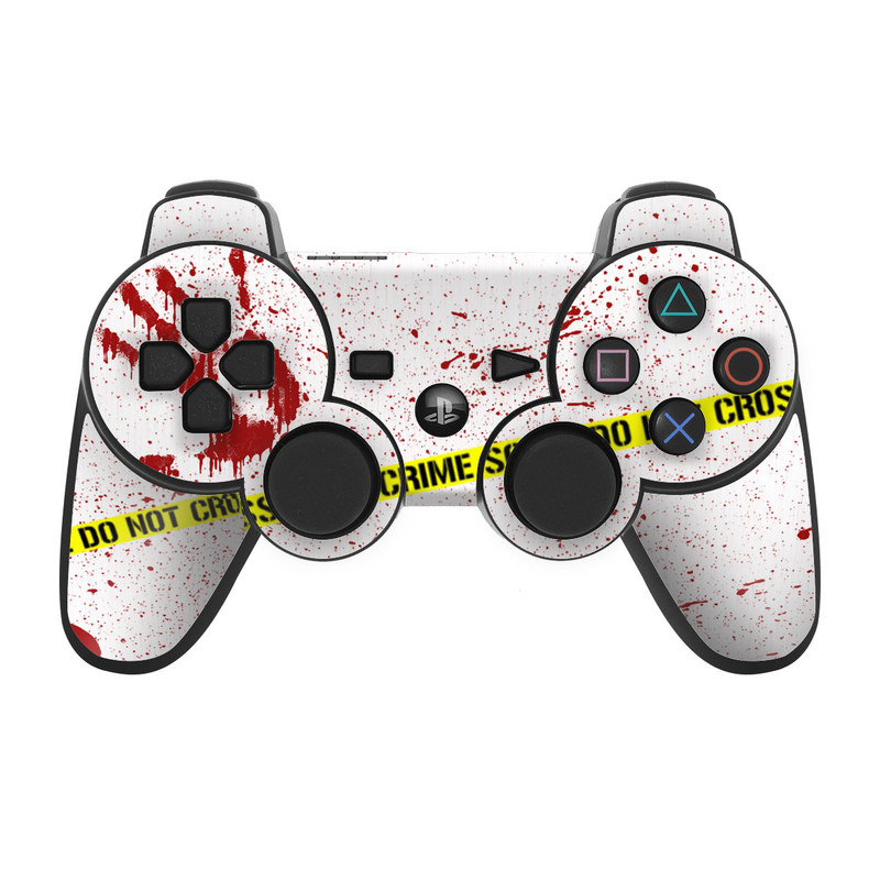 Crime Scene Revisited PS3 Controller Skin