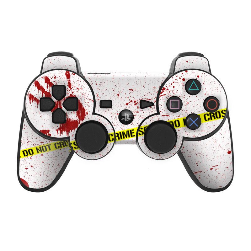 Crime Scene Revisited PS3 Controller Skin