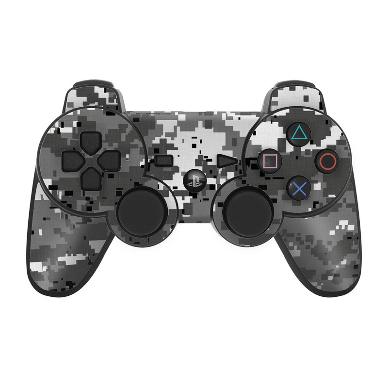 Digital Urban Camo PS3 Controller Skin