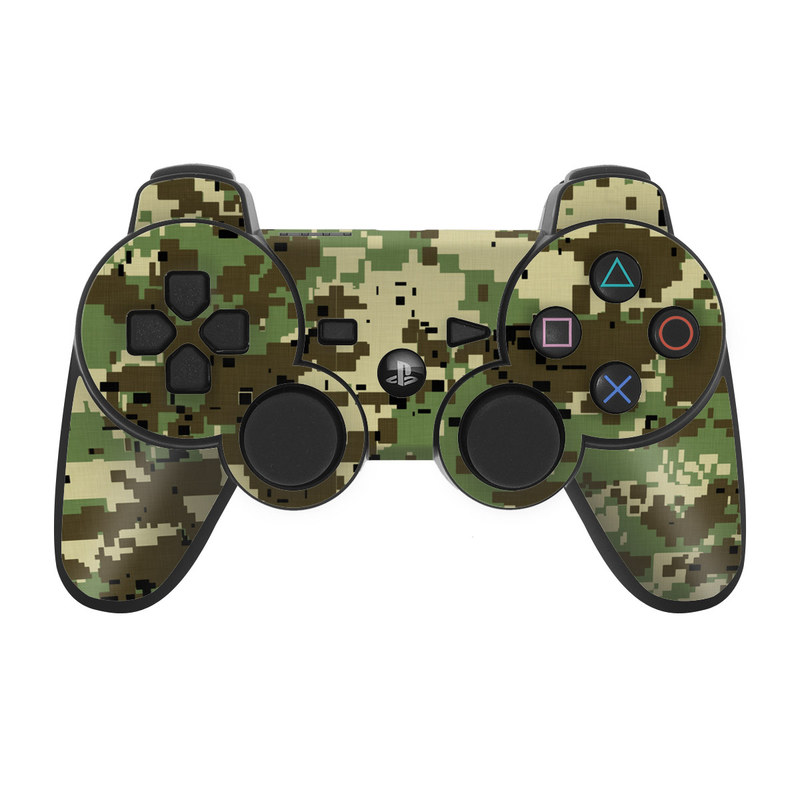 Digital Woodland Camo PS3 Controller Skin