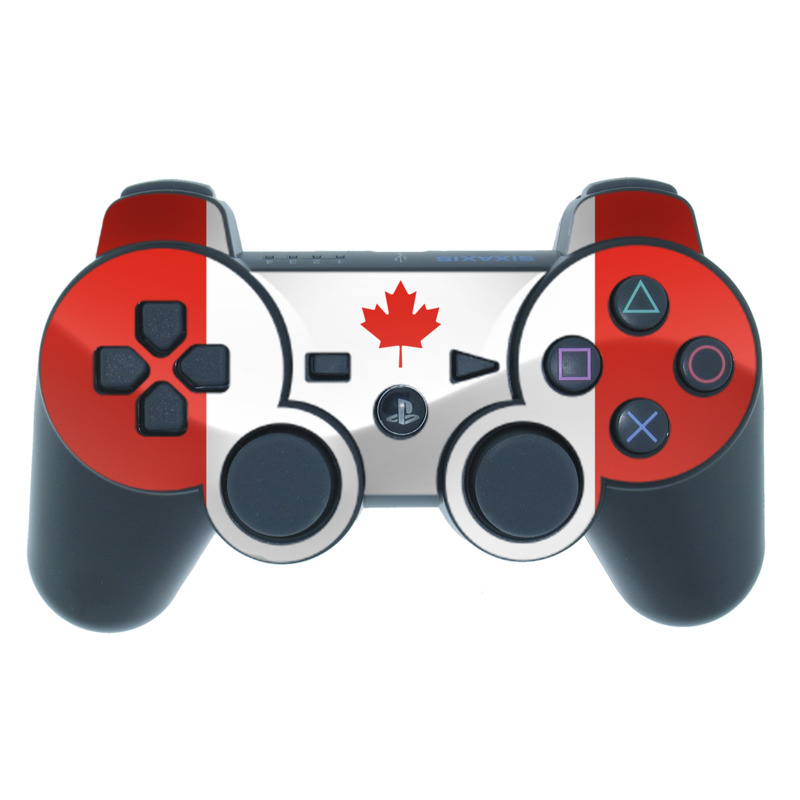 Canadian Flag PS3 Controller Skin
