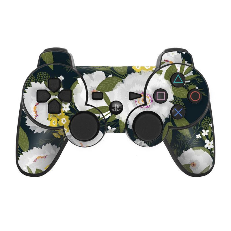 Fleurette Night PS3 Controller Skin