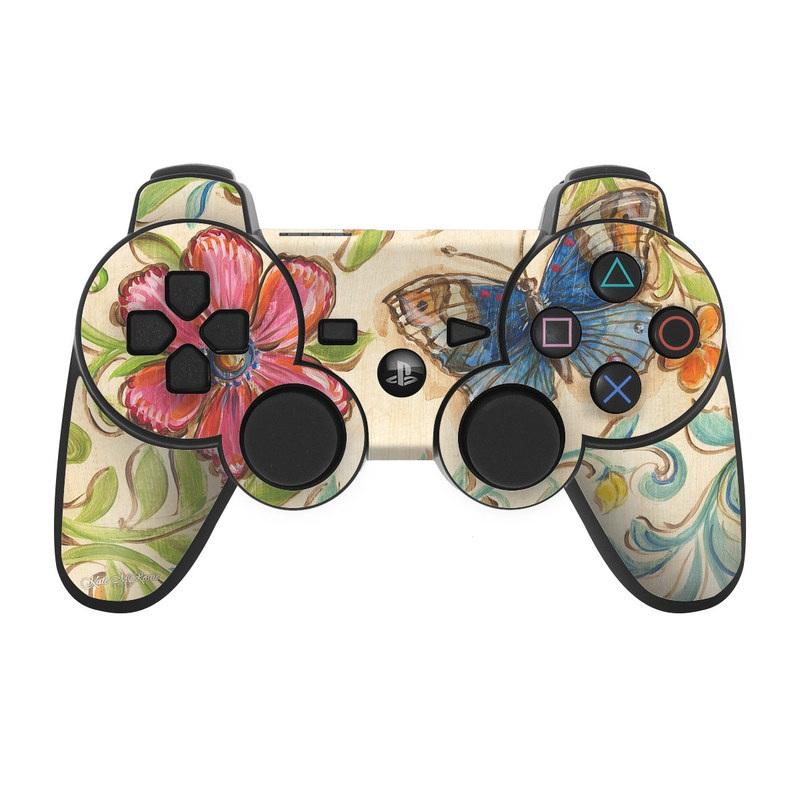 Garden Scroll PS3 Controller Skin