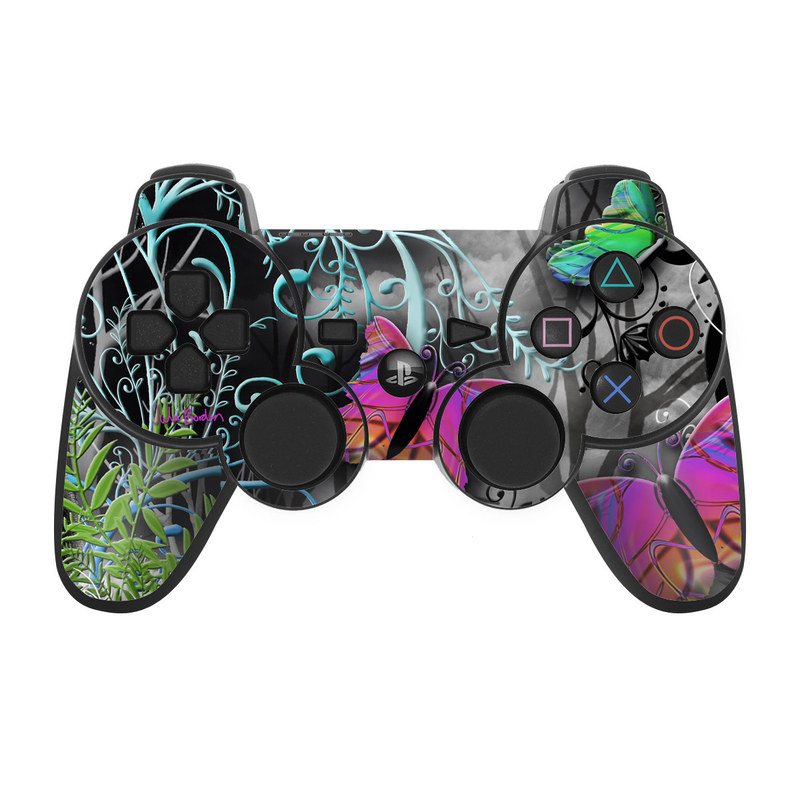 Goth Forest PS3 Controller Skin