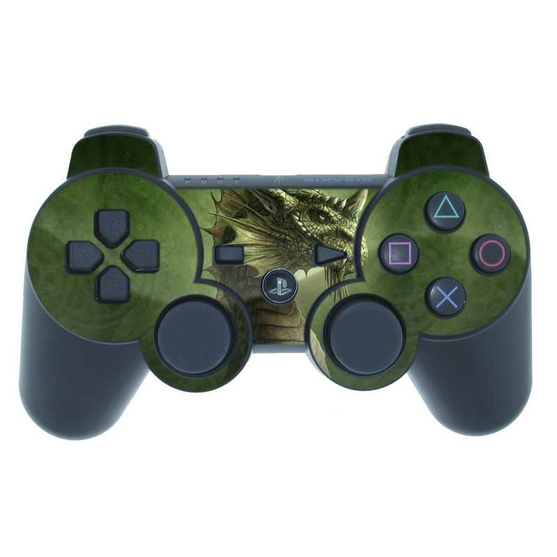 Green Dragon PS3 Controller Skin