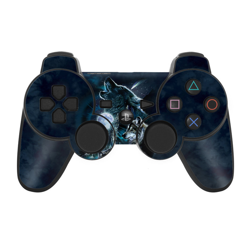 Howling PS3 Controller Skin