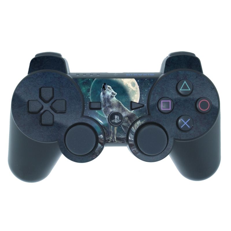 Howling Moon Soloist PS3 Controller Skin