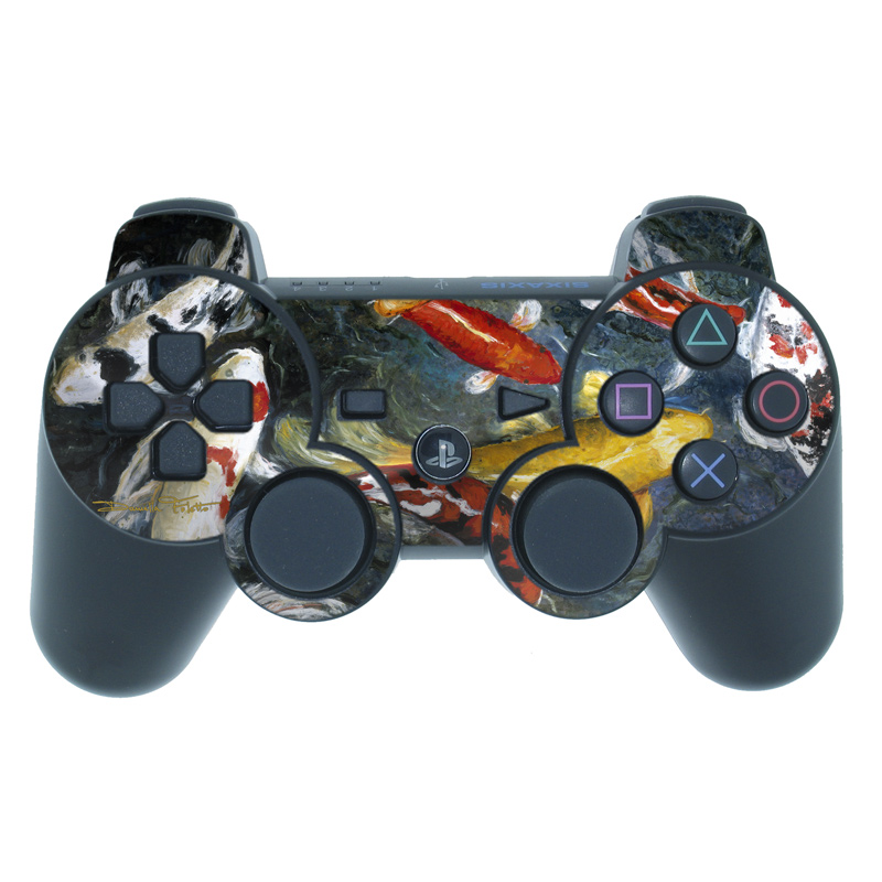 Koi's Happiness PS3 Controller Skin