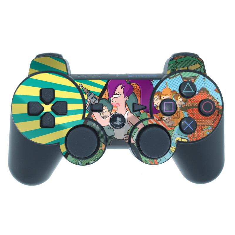 Leela PS3 Controller Skin
