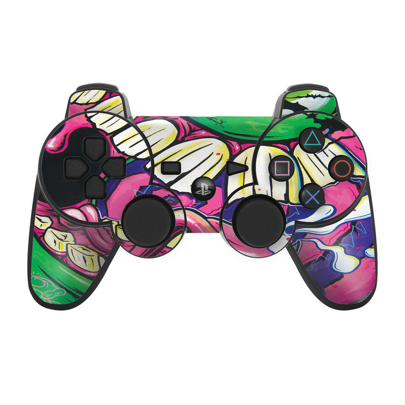 Mean Green PS3 Controller Skin