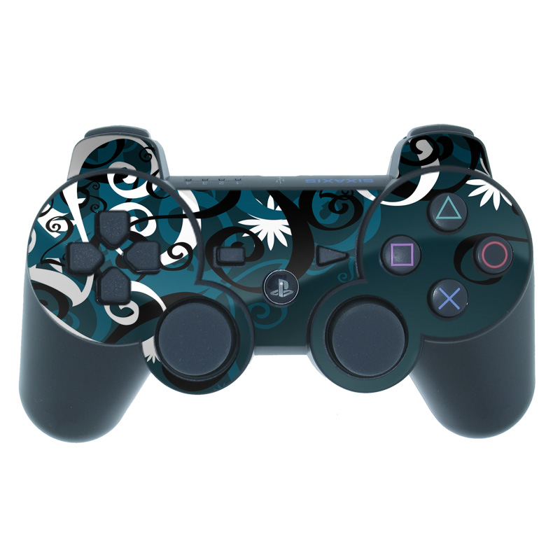 Midnight Garden PS3 Controller Skin