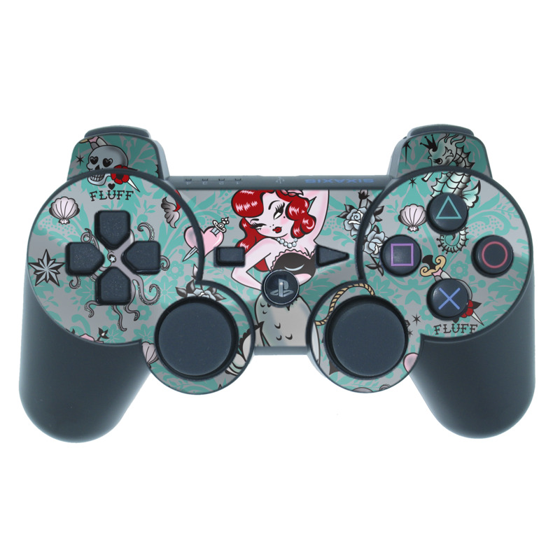 Molly Mermaid PS3 Controller Skin