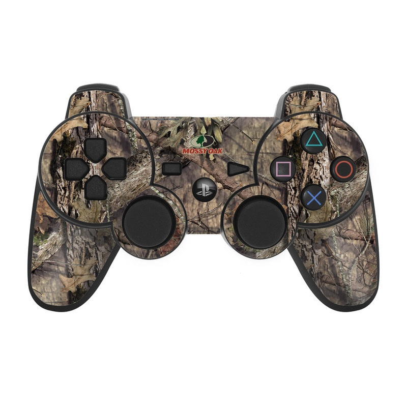 PS3 Controller Skin design of shellbark hickory, Camouflage, Tree, Branch, Trunk, Plant, Leaf, Adaptation, Wood, Twig with orange, green, red, black, gray colors