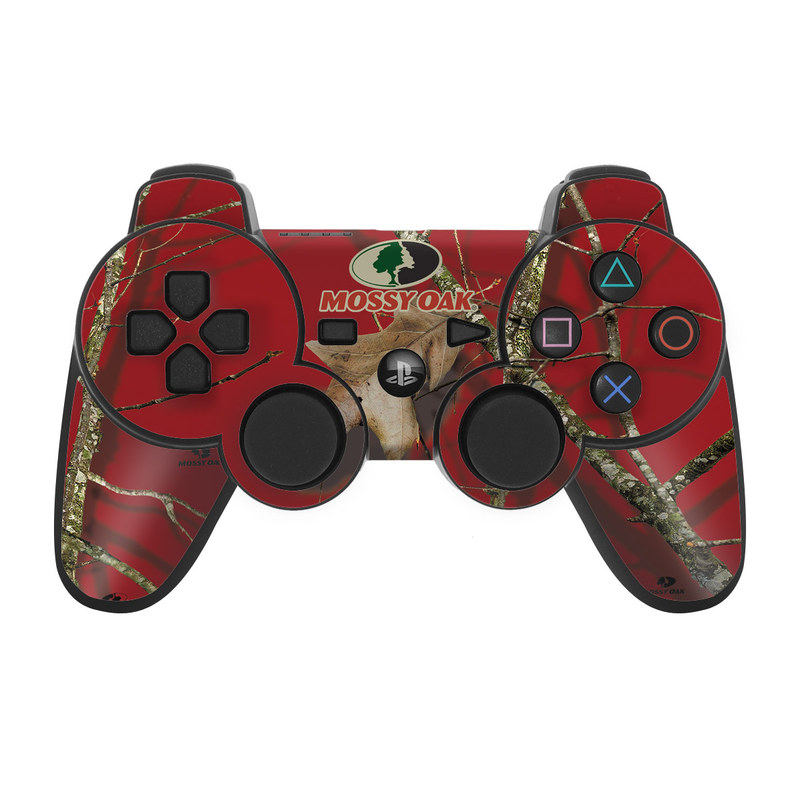 PS3 Controller Skin design of Ginseng, Organism, Plant, Botany, Branch, Tree, Adaptation, Wildlife, Twig, Plant stem with red, black, green, gray colors