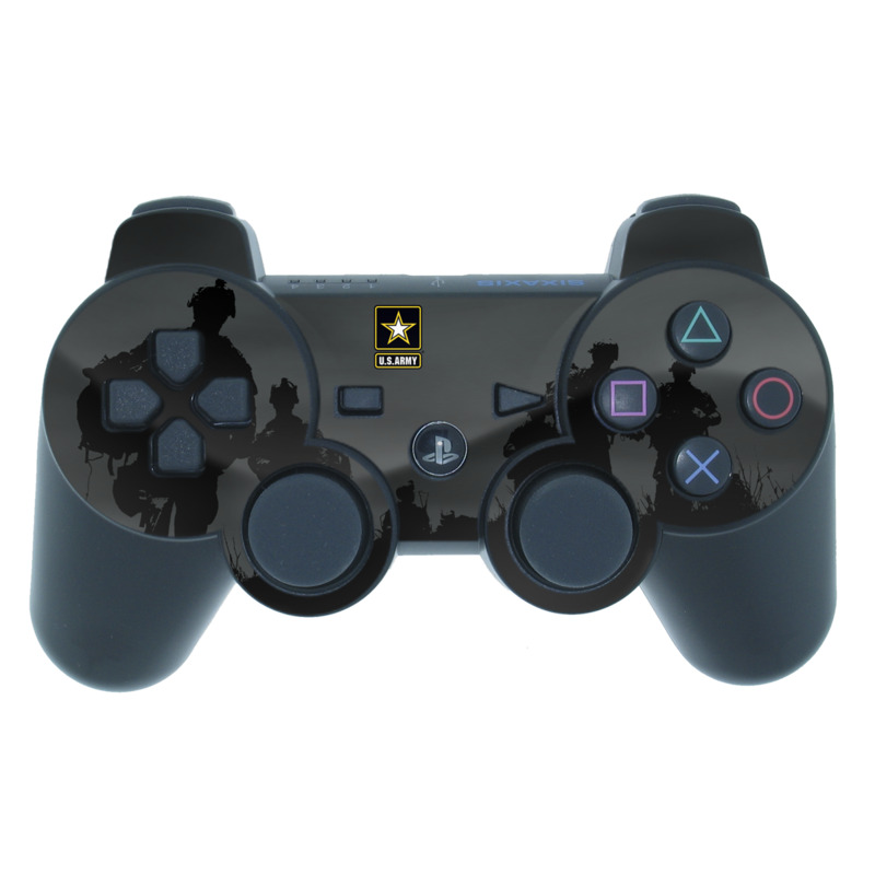Night Action PS3 Controller Skin