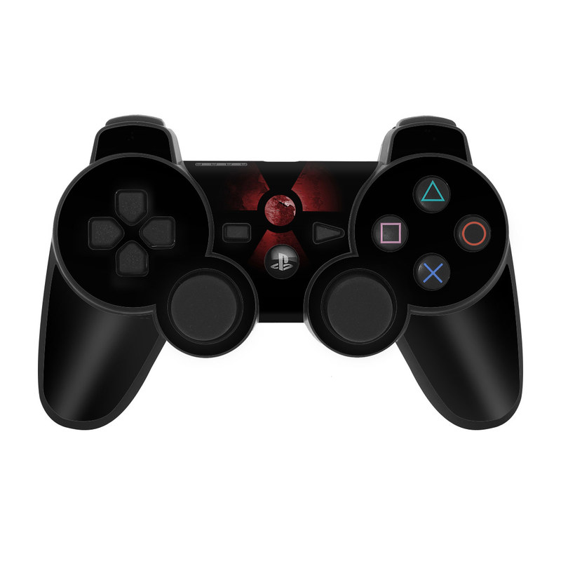 Nuclear PS3 Controller Skin