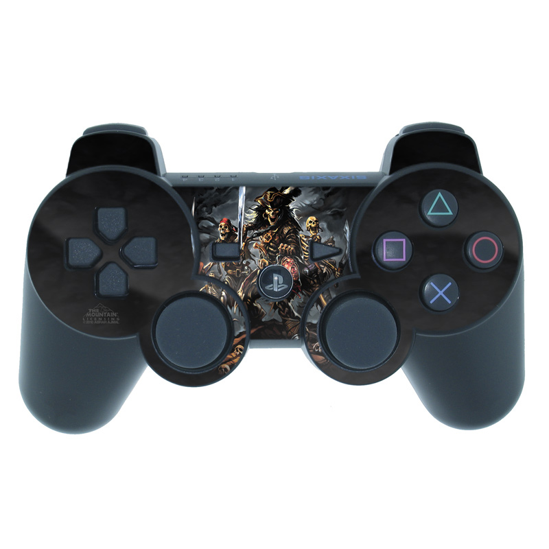 PS3 Controller Skin design of Demon, Cg artwork, Fictional character, Games with black, gray, red, green colors