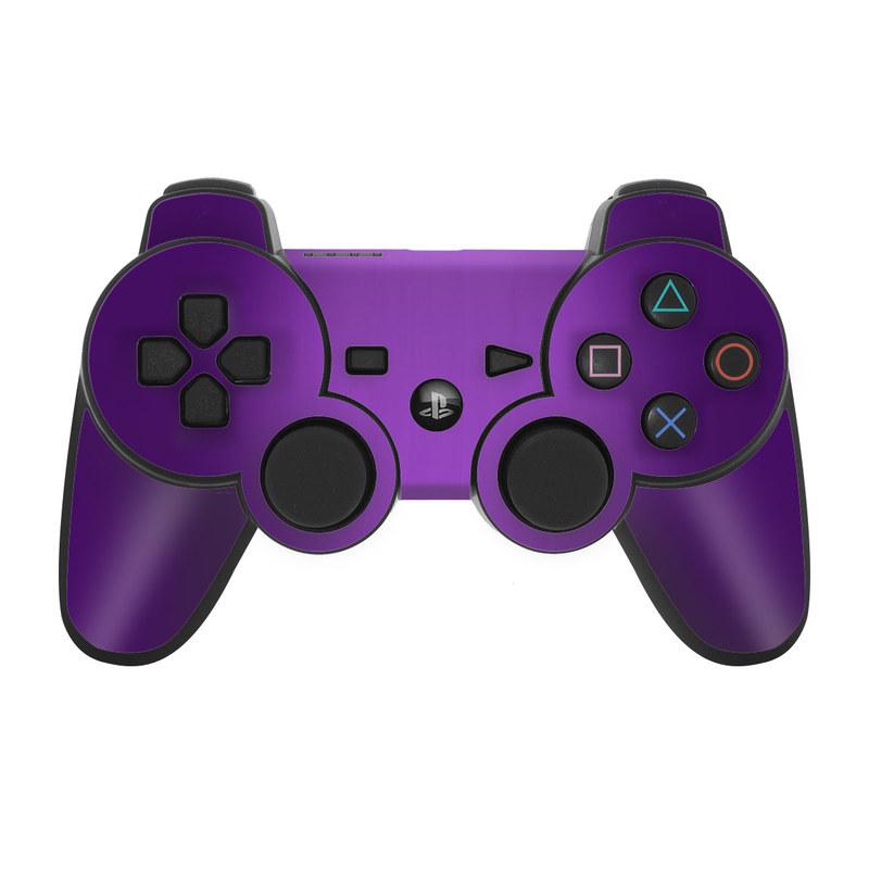 Purple Burst PS3 Controller Skin