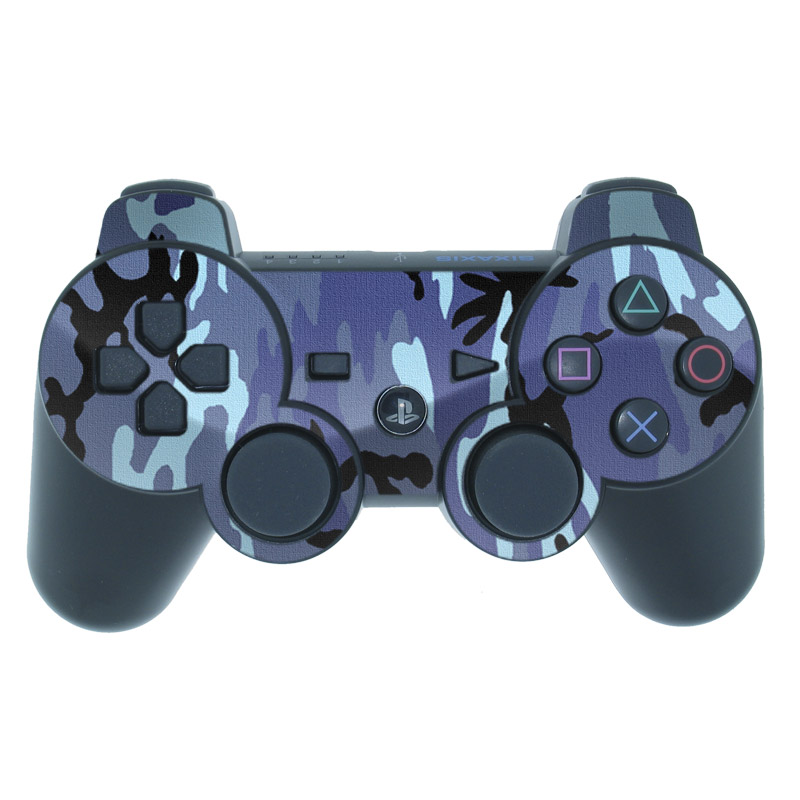 Sky Camo PS3 Controller Skin
