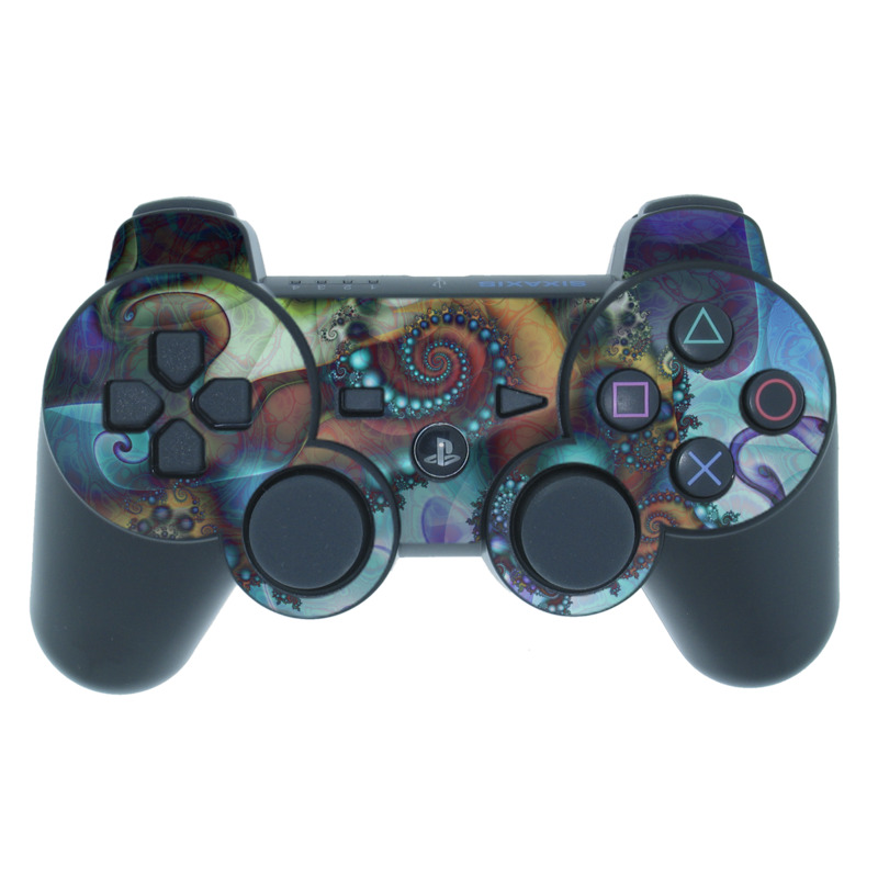 Sea Jewel PS3 Controller Skin