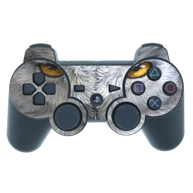 Snowy Owl PS3 Controller Skin