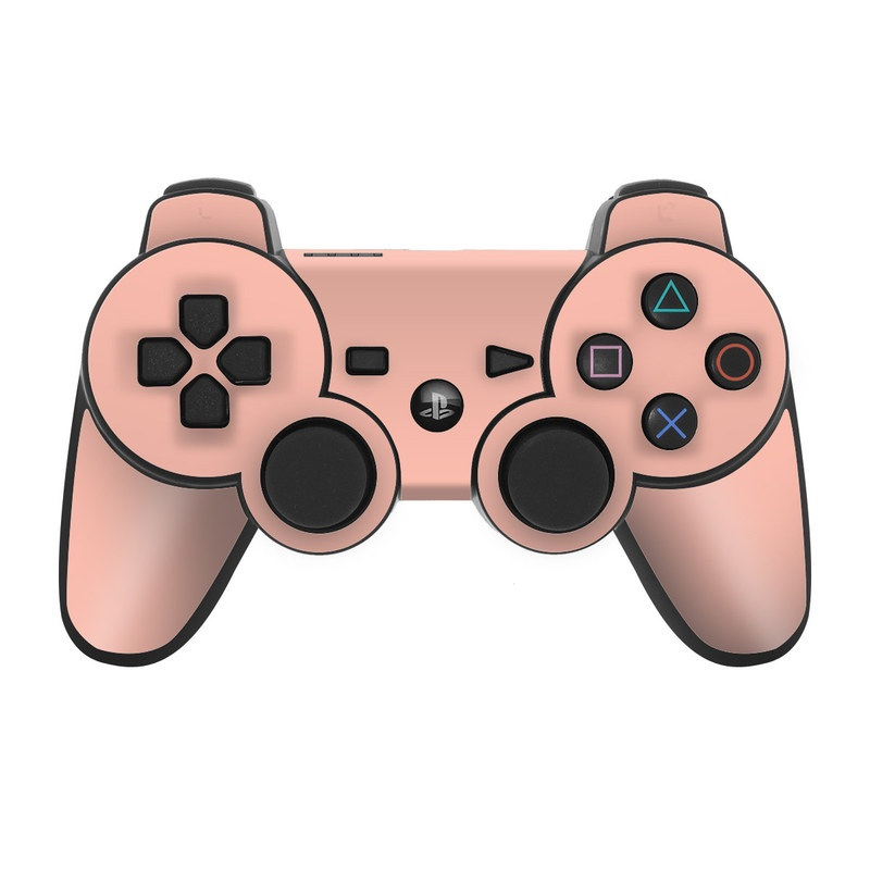 Solid State Peach PS3 Controller Skin