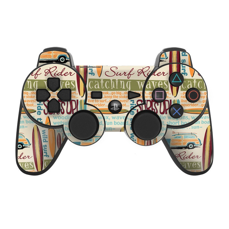 Surf Words PS3 Controller Skin