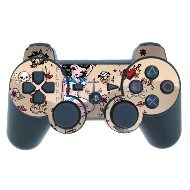 Suzy Sailor PS3 Controller Skin