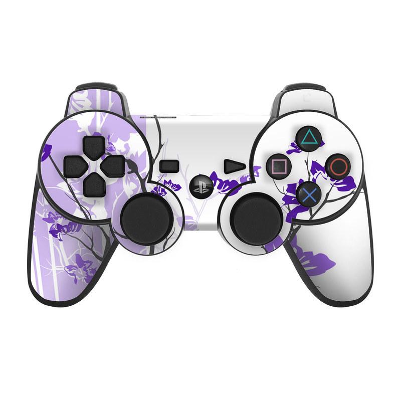 Violet Tranquility PS3 Controller Skin