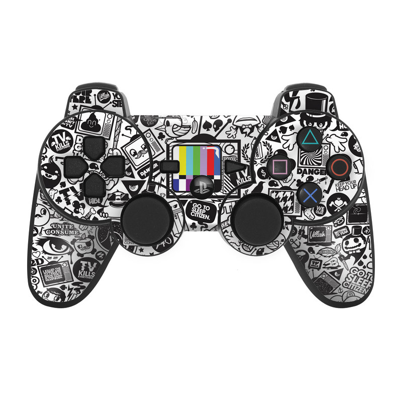 TV Kills Everything PS3 Controller Skin
