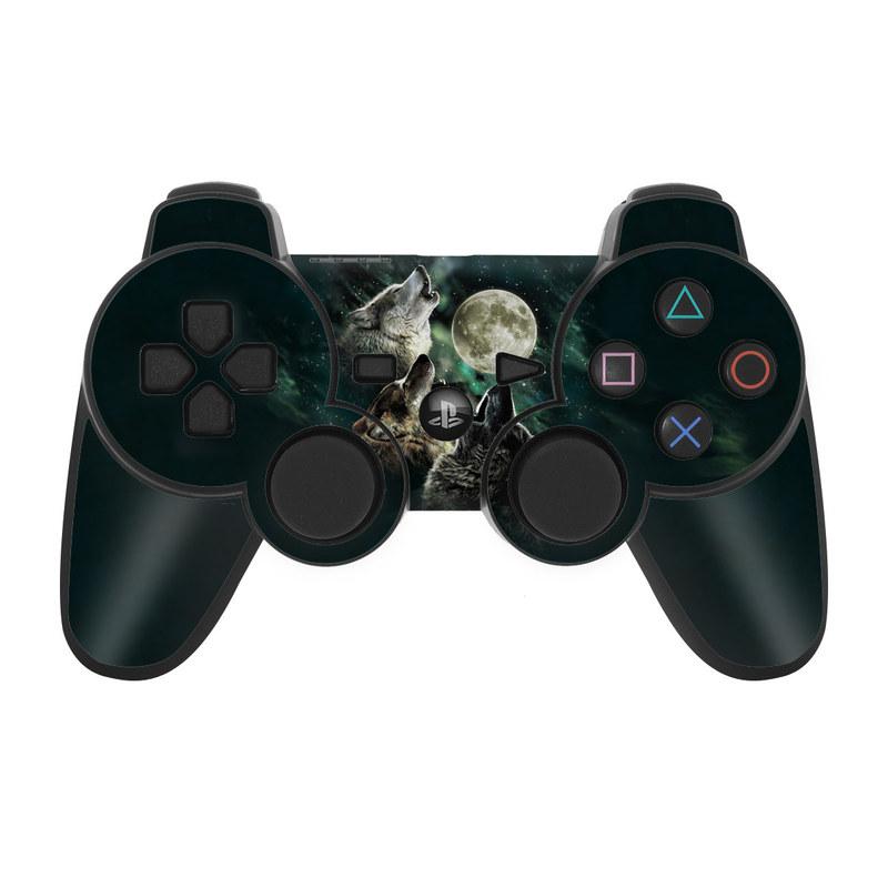 Three Wolf Moon PS3 Controller Skin
